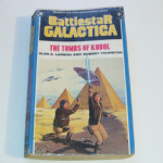 Battlestar Galactica The Tombs of Kobol Paperback book Ex Solihull Library